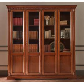Библиотека 4-х дверная Palazzo Ducale Ciliegio Prama