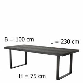 Обеденный стол Eichholtz Melchior 230 см 112222