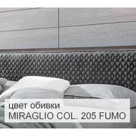 Банкетка Camelgroup Maia, ткань MIRAGLIO COL. 205 FUMO
