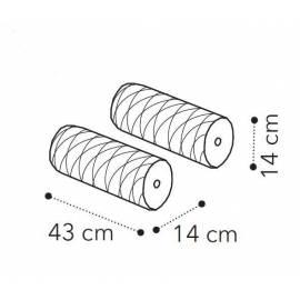 Валики (2 шт) Camelgroup Maia ткань MIRAGLIO COL. 205 FUMO
