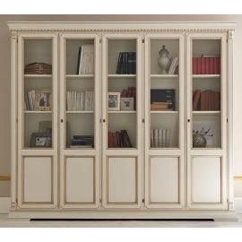 Библиотека 5-и дверная Palazzo Ducale Laccato Prama