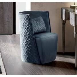 Кресло Camelgroup Maia DAYTONA, ткань MIRAGLIO COL. 617 BLU