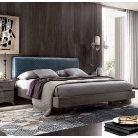 Кровать Camelgroup Maia 160х200, ткань MIRAGLIO COL. 617 BLU