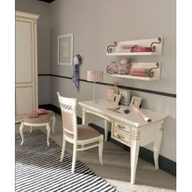Письменный стол с 2-мя ящиками, правый Palazzo Ducale Laccato Prama