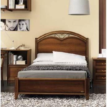 Кровать Nostalgia Camelgroup 90х200 с ковкой без изножья