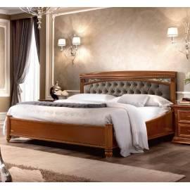 Кровать Treviso Capitone Camelgroup 160 см без изножья с мягкой спинкой Nabuk 11
