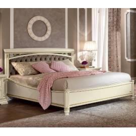 Кровать Treviso frassino Capitone Camelgroup 160 см без изножья с мягкой спинкой Nabuk 12