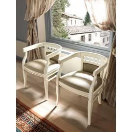 Кресло обивка экокожа Palazzo Ducale Laccato Prama 71BO01PL08
