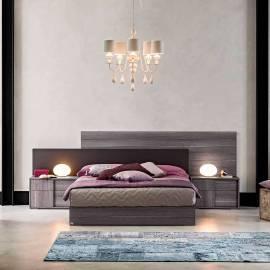 Кровать 198х200 Status Futura Grey