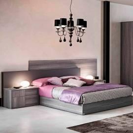 Мягкое изголовье к кровати 180 Status Futura Grey