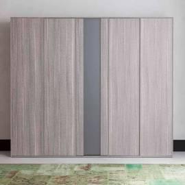 Шкаф 5-дверный Status Futura Grey
