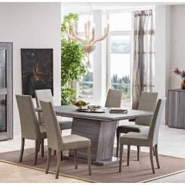 Стол обеденный 180/270 см Status Futura Grey + 2 вставки