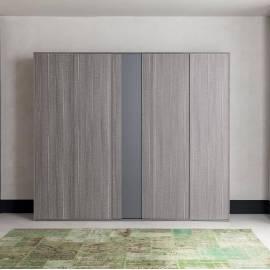 Шкаф 4-дверный Status Futura Grey