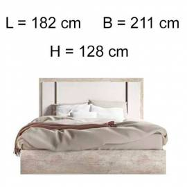 Кровать 154х203 Status Treviso Grey Queen Size