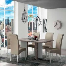 Стол обеденный 160х90 Status Treviso Grey, нераскладной