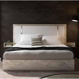 Кровать 198х203 Status Treviso Grey King Size