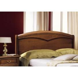 Кровать Nostalgia Camelgroup 160х200 с деревянной вставкой и изножьем