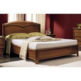 Кровать Nostalgia Camelgroup 140х200 с деревянной вставкой, без изножья