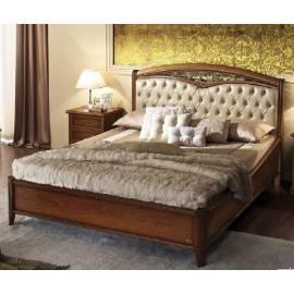 Кровать Nostalgia Camelgroup 180х200 с обивкой, ковкой, без изножья