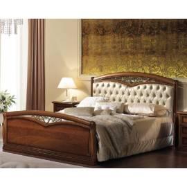 Кровать Nostalgia Camelgroup 180х200 с обивкой, ковкой, изножьем