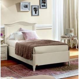 Кровать Nostalgia Camelgroup Bianco Antico 120х200 без ковки без изножья