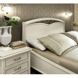Кровать Nostalgia Camelgroup Bianco Antico 160х200 с ковкой с изножьем