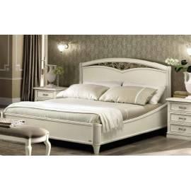 Кровать Nostalgia Camelgroup Bianco Antico 160х200 с ковкой без изножья