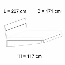 Кровать 160x203 Status Caprice White