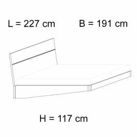 Кровать 180x203 Status Caprice White