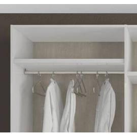 Штанга для шкафа в секцию 2х дверную Status Caprice White
