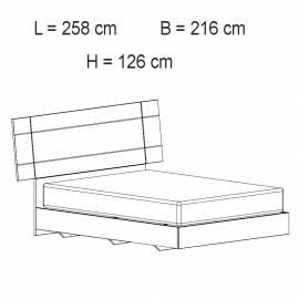 Кровать 198x203 Geo Status Dream