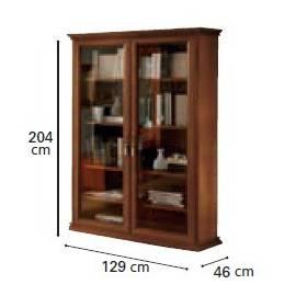 Шкаф книжный 2-дверный Nostalgia Day Camelgroup