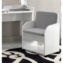 Кресло для туалетного стола Status Dream White экокожа Сroco