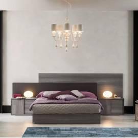 Кровать 180х200 Status Futura Grey
