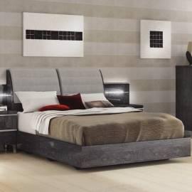 Кровать 154x203 Status Elite Grey