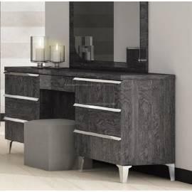 Туалетный стол большой Status Elite Grey 6 ящиков