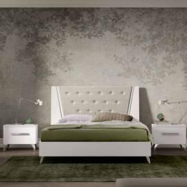 Кровать 198x203 Status Aura White