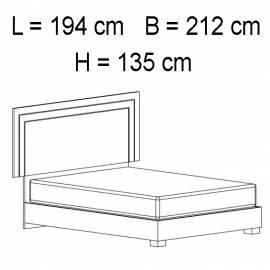 Кровать 154x203 Status Volare White