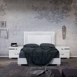 Кровать 180x203 Status Volare White