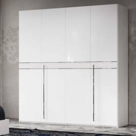 Шкаф 6-дверный Status Volare White