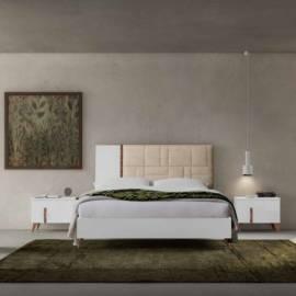 Кровать 154x203 Status Sirio White без обивки
