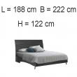 Кровать 180x203 Status Star - Фото 2