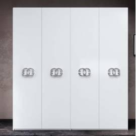 Шкаф 4-дверный Status Dafne