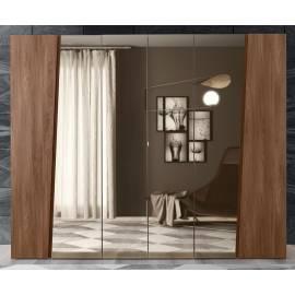Шкаф 6-ти с зеркалом дверный Storm Camelgroup