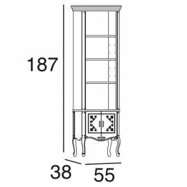 Шкаф книжный Panamar 727.000