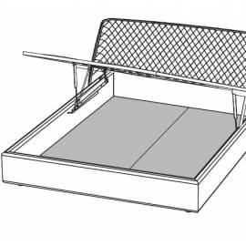 Панель нижняя для подъемного мех-ма 160 для кроватей TEKNO/SATURNO Camelgroup Tekno