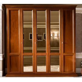 Шкаф 5 дверный Treviso night Camelgroup