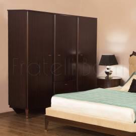 Шкаф 3-дверный Fratelli Barri Mestre, Махагон, FB.WR.MES.331