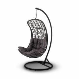Кресло подвесное плетёное 4SIS Виши коричневое