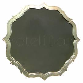 Зеркало Fratelli Barri Rimini, серебро с лаком, FB.MR.RIM.57